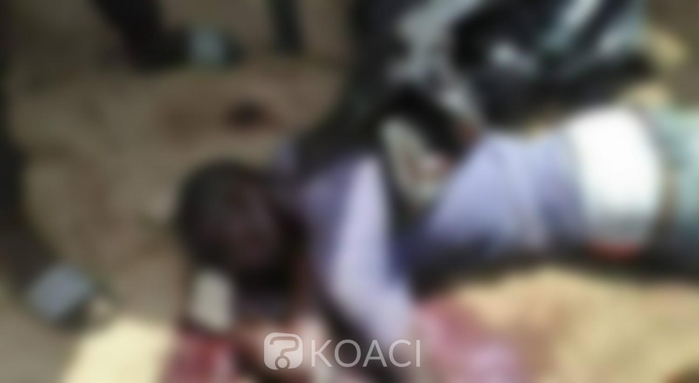 Côte d'Ivoire : Anyama, suite à une dispute, un apprenti « gbaka »  poignarde mortellement un motocycliste