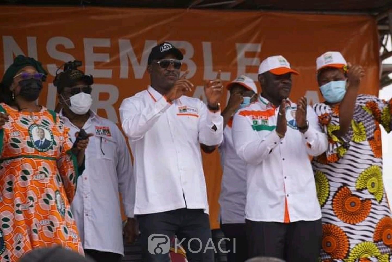 Côte d'Ivoire : Mamadou Touré aux populations de Daloa: « Allez voter dans la paix »