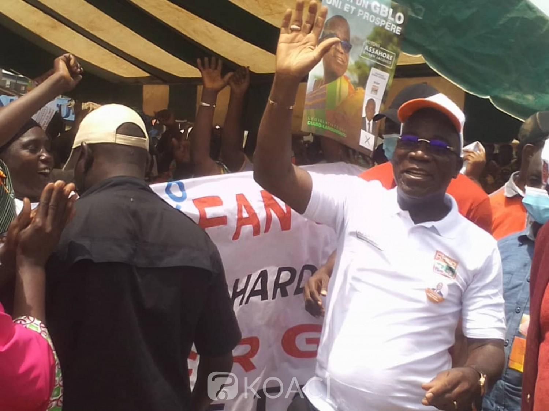 Côte d'Ivoire : Diabo, qualifié de « messie pour le Gblo », le candidat du RHDP aux législatives appelé « l'Homme du développement »