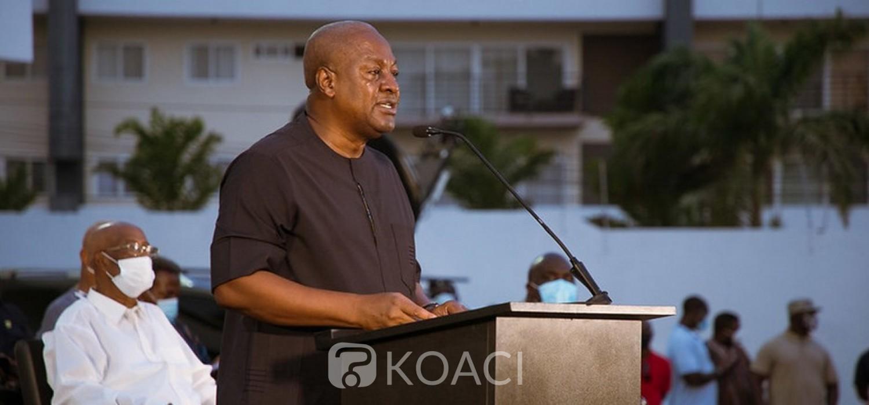 Ghana :   Après verdict présidentiel 2020, Mahama s'incline mais …