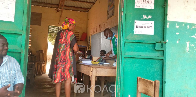 Côte d'Ivoire : Jour de vote des législatives 2021, Transua et la lenteur des agents de la CEI