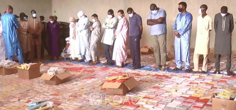 Niger :  Une importante quantité de drogue saisie à Niamey, 13 arrestations, trajectoire