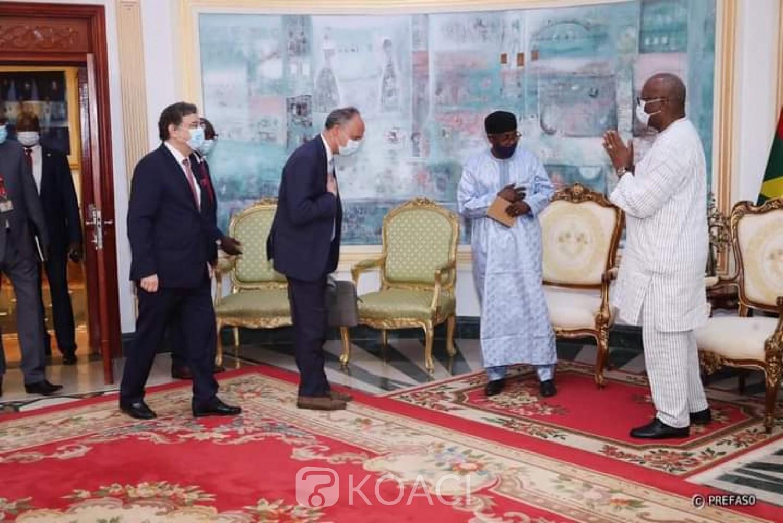Burkina Faso : La feuille de route de la Coalition pour le Sahel présentée au président du Faso