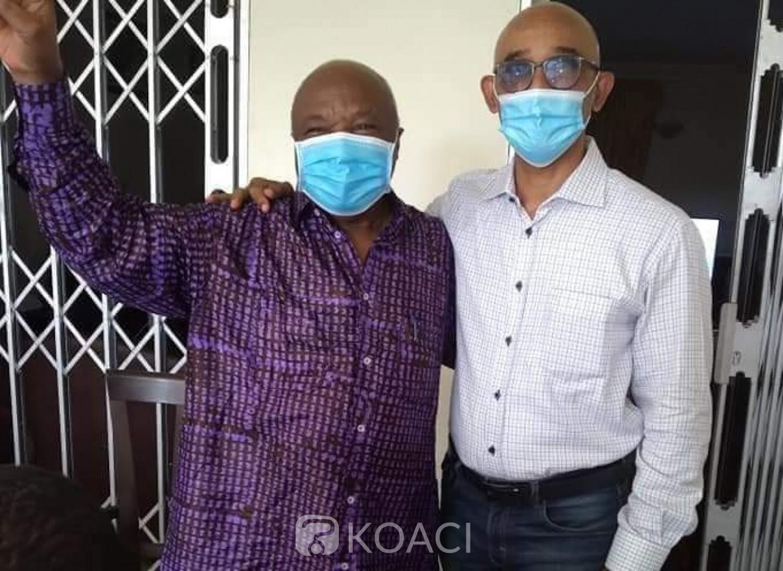 Côte d'Ivoire : Après la victoire de la liste EDS-PDCI à Yopougon, Michel Gbagbo reçoit les félicitations d'Assoa Adou
