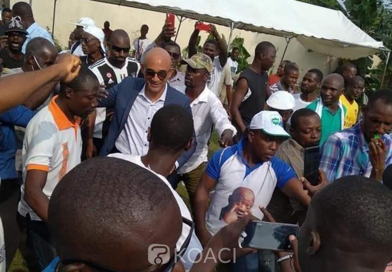 Côte d'Ivoire : Après leur victoire à Yopougon, Michel Gbagbo et Dia Houphouët en parade pour remercier la population