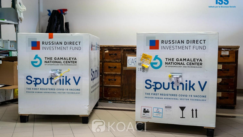 Tunisie : Réception d'une première cargaison de 30 000 doses de vaccin russe anti-Covid, Sputnik V