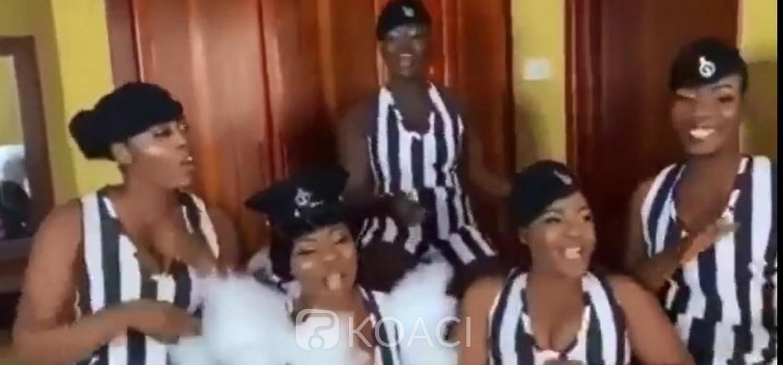 Ghana : Cinq policières demoiselles d'honneurs punies après un mariage