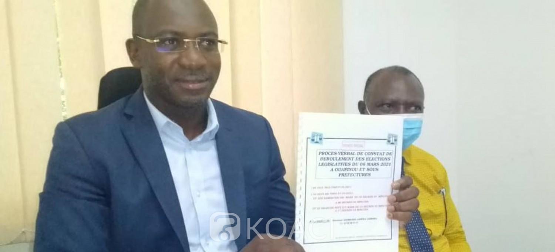 Côte d'Ivoire : Législatives 2021 à Ouaninou, l'adversaire du ministre Mamadou Sanogo déplore des fraudes et demande la reprise du scrutin