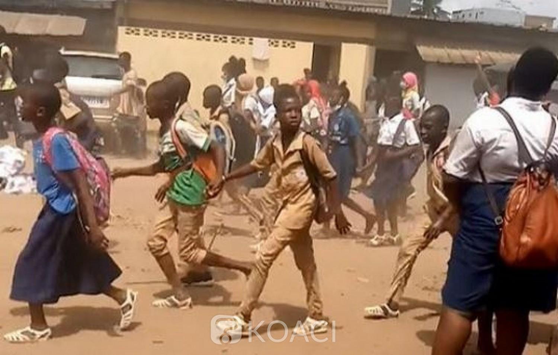 Côte d'Ivoire : Décès d'Hamed Bakayoko, pour prendre part à ses obsèques, des élèves perturbent les cours à Abobo
