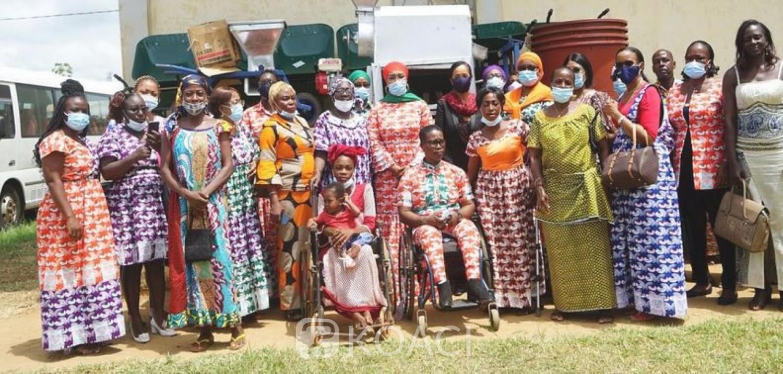 Côte d'Ivoire : Une unité de production industrielle d'Attieke offerte par Bolloré à des femmes handicapées