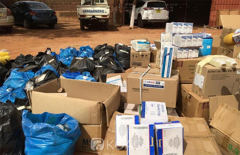 Burkina Faso : Trois cabinets médicaux illégaux démantelés par la Gendarmerie