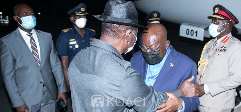 Ghana-Côte d'Ivoire :  Akufo-Addo aux obsèques d'Hamed Bakayoko