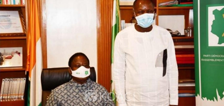 Côte d'Ivoire : Après les législatives, Mabri chez Bédié pour rejoindre la coalition EDS-PDCI ?