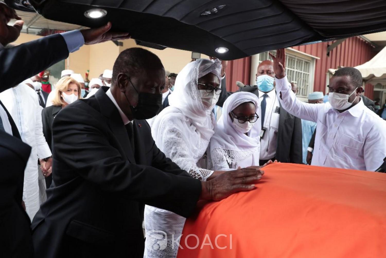 Côte d'Ivoire : Ouattara à propos d'Hamed  Bakayoko : « Il a œuvré avec abnégation à la consolidation de la paix et de la sécurité »