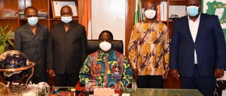 Côte d'Ivoire : Après son élection aux  Législatives 2021, Hubert Oulaye révèle : « L'intervention du président Bédié a été déterminante dans ma victoire »