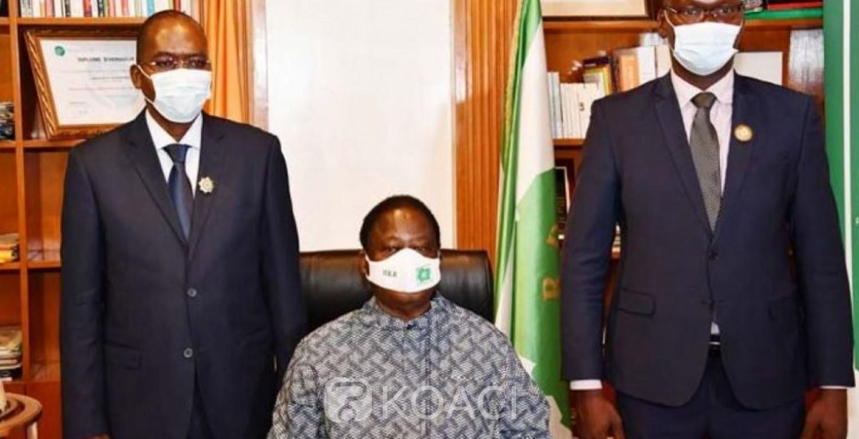 Côte d'Ivoire : Législatives 2021, deux  candidats indépendants élus demandent  pardon à Bédié