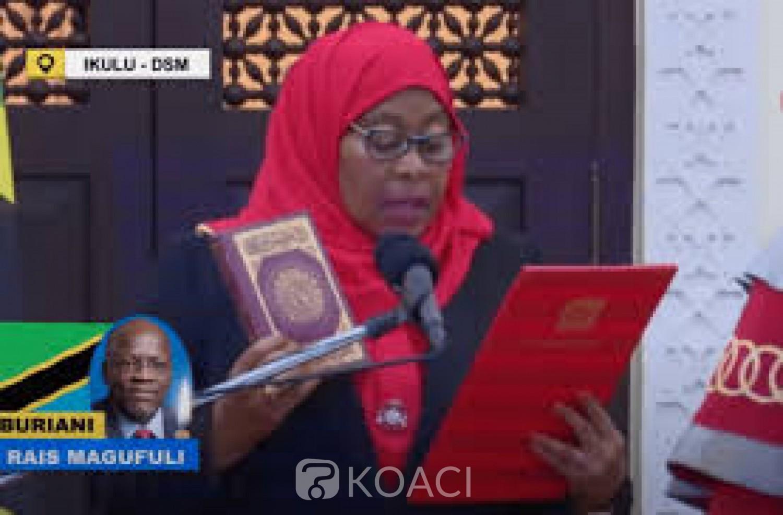 Tanzanie : Samia Suluhu Hassan prête serment et devient la première femme à la tête du pays