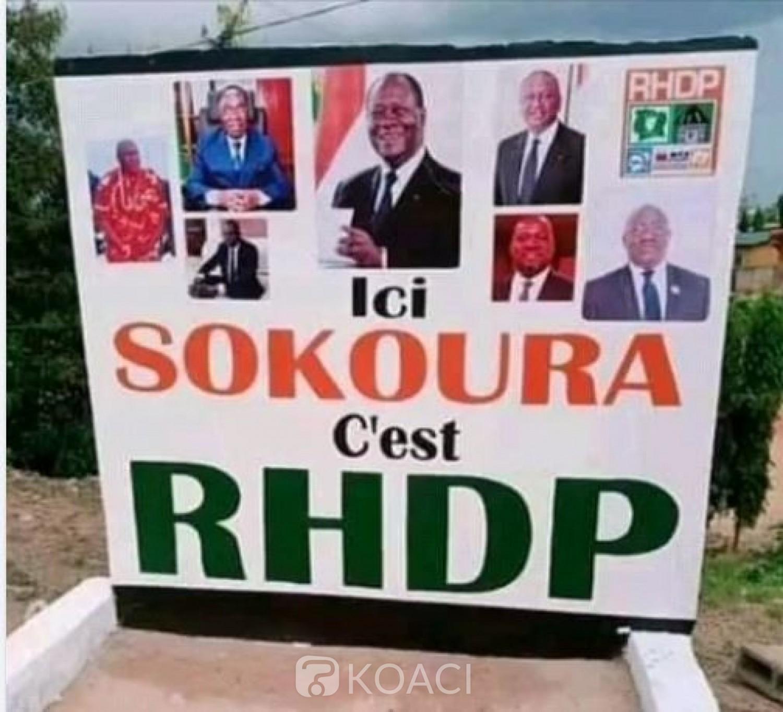 Côte d'Ivoire : Pour une histoire de destruction de pancarte, des militants du RHDP tentent de s'attaquer à la Mairie d'Aboisso