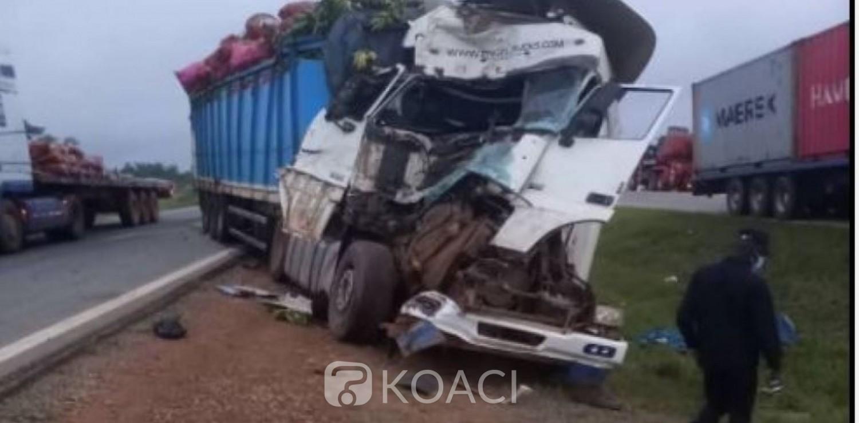 Côte d'Ivoire : Autoroute du nord, trois personnes tuées dans un accident de circulation