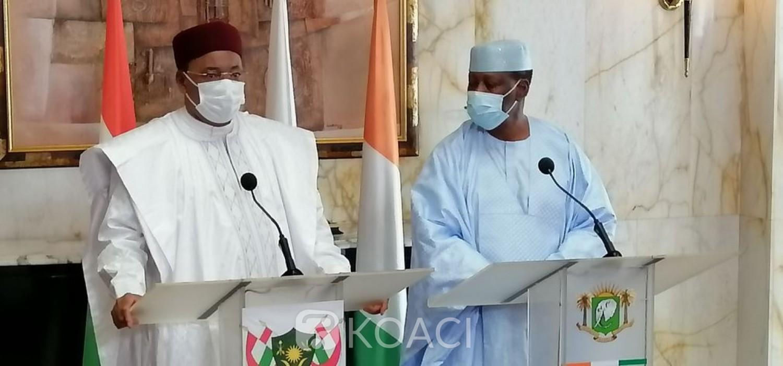 Côte d'Ivoire-Niger : Issouffou fait ses adieux à Ouattara et salue le renforcement des relations bilatérales