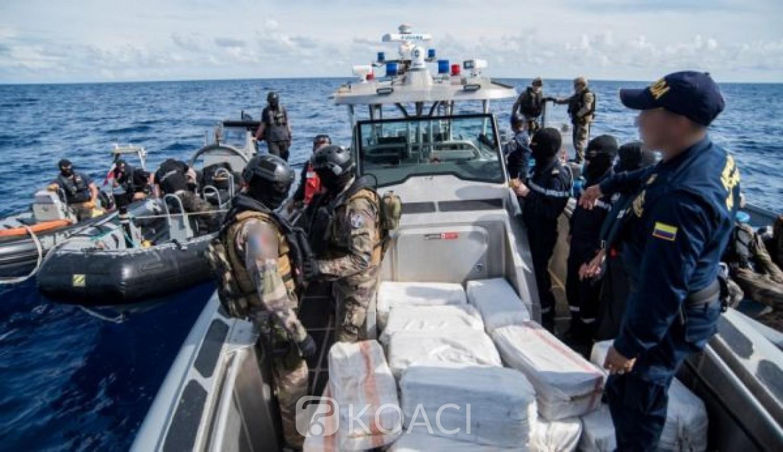Côte d'Ivoire : La marine française saisit plus de 6 tonnes de cocaïne à destination d'Abidjan