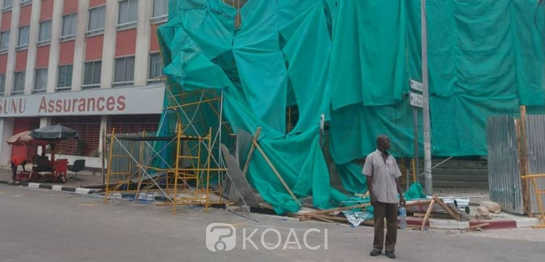 Côte d'Ivoire : La chute d'un échafaudage de l'immeuble cotivoirienne écrase une femme au Plateau