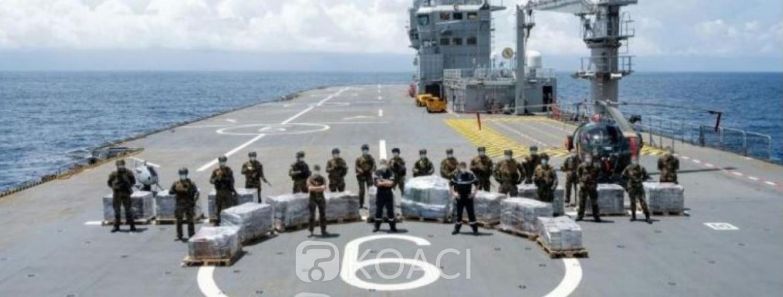 Côte d'Ivoire : Saisie de 6 tonnes de cocaïne à destination d'Abidjan, près de 655 milliards de FCFA à la revente