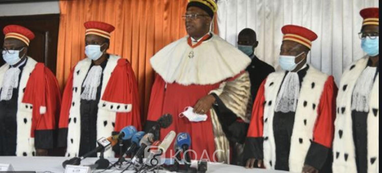 Côte d'Ivoire : Législatives 2021, les victoires d'Affi, Emmou, Sidiki Konaté, Amédé Kouakou,  Samy Merhy, Kandia et Aka Aouélé contestées devant le Conseil Constitutionnel