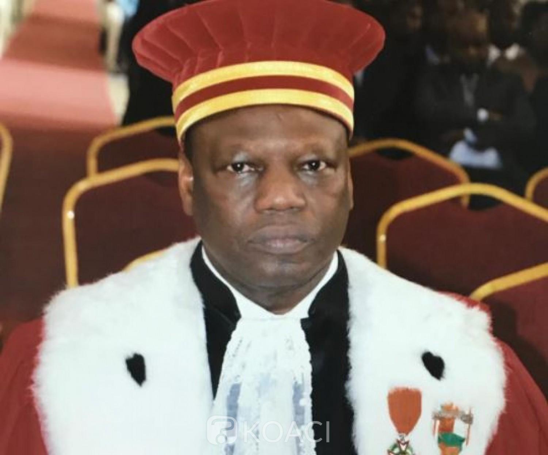 Côte d'Ivoire : Aly Yéo élevé au rang de Magistrat hors hiérarchie et nommé Procureur général près de la cour des comptes