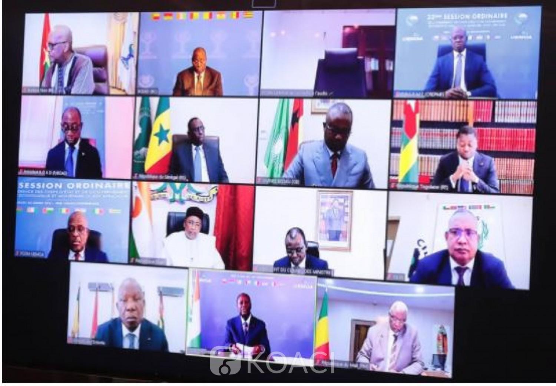 UEMOA : Les Etats membres fixent à 25.000  FCFA  le coût du test de dépistage de la COVID-19