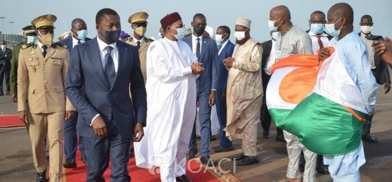 Togo-Niger :  Coopération, vœux du Président Issoufou à Gnassingbé avant son départ du pouvoir