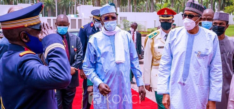 Nigeria-Tchad :  Rencontre Buhari-Deby, inquiétudes pour le lac Tchad, libre circulation et sécurité