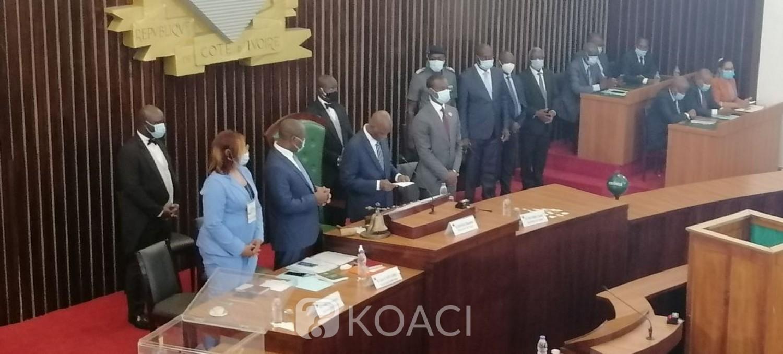 Côte d'Ivoire :   Assemblée nationale, Amadou Soumahoro réélu président sans surprise avec 158 voix sur 247 votants