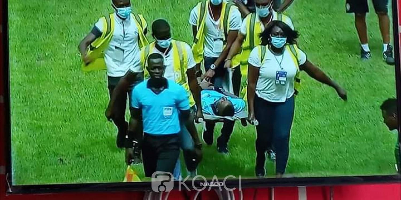 Côte d'Ivoire : Éliminatoire CAN 2021, alors que les éléphants menaient 3-1 face à l'Éthiopie, l'arbitre central s'écroule et est évacué d'urgence, match interrompu