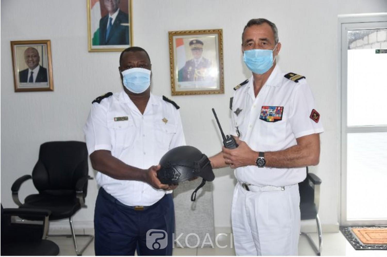 Côte d'Ivoire : Equipements français de 20 millions FCFA remis à la Marine nationale