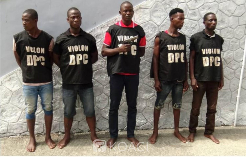 Côte d'Ivoire :  Le « dangereux » gang de Diallo Abdoulaye dit « Alpha », demantélé à Abidjan