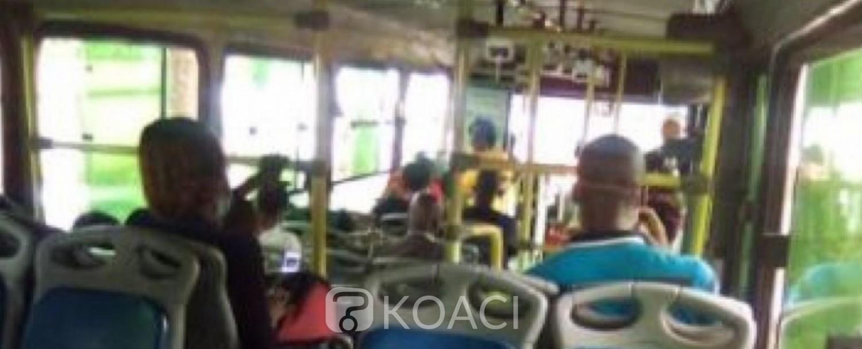 Côte d'Ivoire : Port obligatoire du masque dans les autobus de la Sotra, tout contrevenant sera désormais passible d'une amende de 15000 FCFA