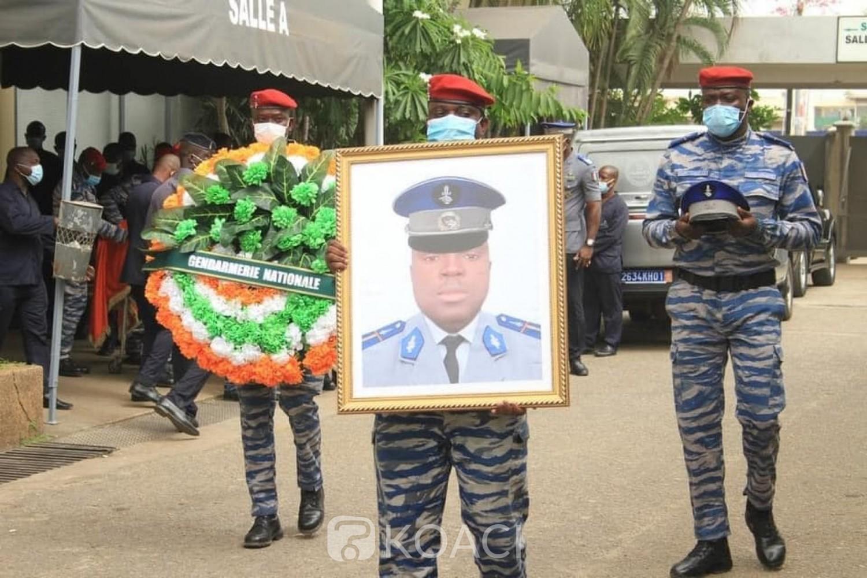 Côte d'Ivoire : L'adjudant Sanogo Seydou, tué lors de l'attaque du cortège du ministre du budget inhumé