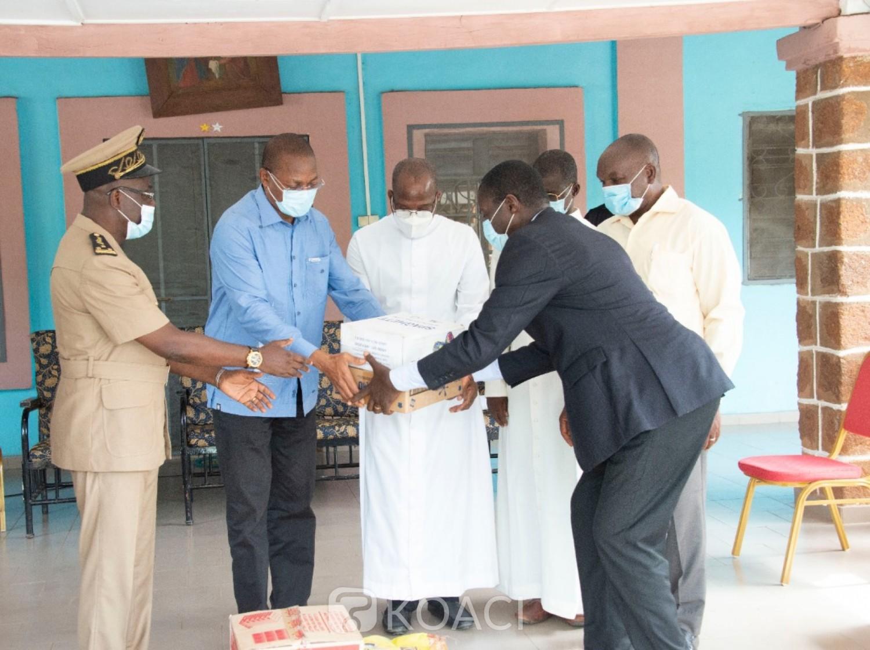 Côte d'Ivoire : Fête de Pâques, au nom du Chef de l'Etat, le RHDP aux côtés des chrétiens de Katiola et Korhogo