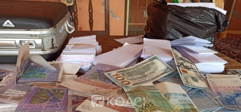 Togo :  Saisie d'un faux trésor