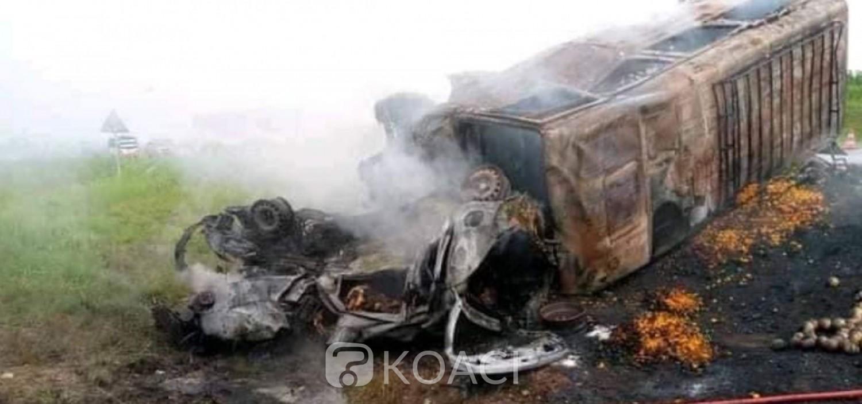 Côte d'Ivoire : Sortie de route d'un convoi religieux à Pâques, 6 morts à Kahankro