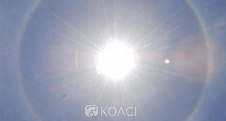 Burkina Faso :  Un halo solaire, objet de curiosité à Ouagadougou