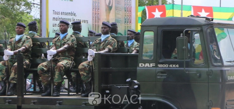 Togo :  Le GFS, une nouvelle unité créée dans l'Armée