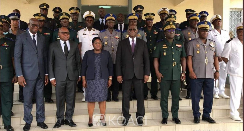 Côte d'Ivoire : A sa prise de fonction à la tête du Ministère de la Défense, Téné Birahima Ouattara relève ses objectifs et rend un hommage à Hamed Bakayoko