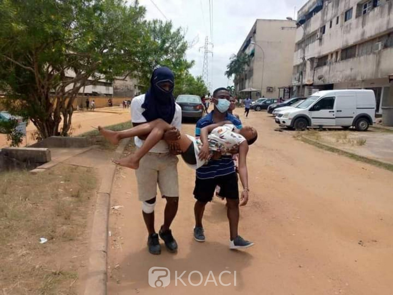 Côte d'Ivoire : Cocody, course poursuite entre étudiants et les forces de l'ordre à la suite d'une opération de déguerpissement de certains commerces