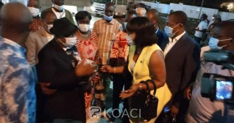 Côte d'Ivoire : Assoa Adou à Abidjan après des rencontres avec Gbagbo à Bruxelles, refuse toute déclaration pour l'heure