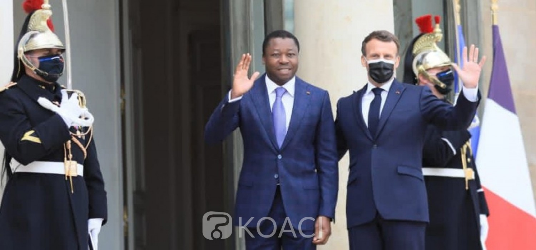 Togo-France : Gnassingbé chez Macron, les grands sujets d'intérêts discutés