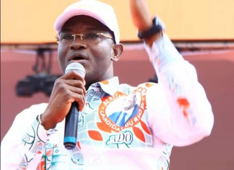 Côte d'Ivoire :    Libération de Blé Goudé et Gbagbo, l'UJRHDP prend acte de la décision de la CPI, déplore les morts de la crise post-électorale et invite les politiques à être des acteurs de paix