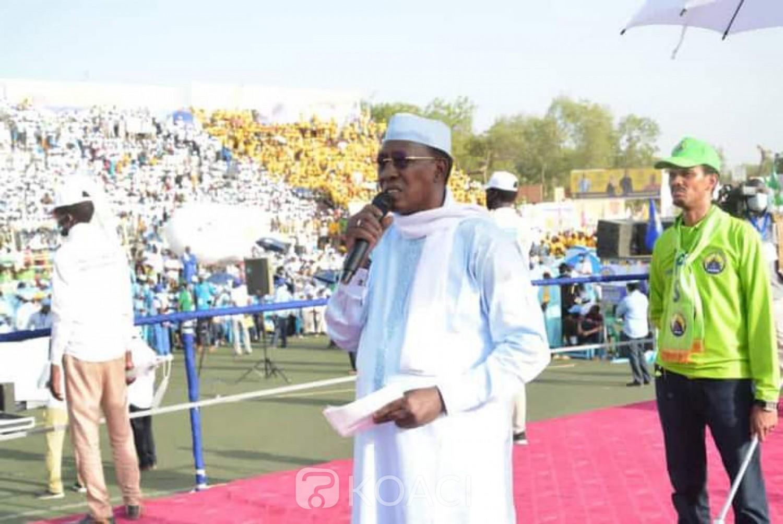 Tchad : Présidentielle, à son meeting de clôture, le candidat Idriss Déby invite les opposants installés à l'étranger de regagner leur pays «Regagnez le pays, Il y a de la place pour tout le monde »