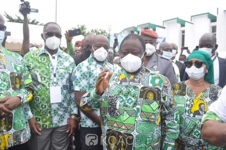 Côte d'Ivoire : Célébration des 75 ans du PDCI, Bédié invite le Gouvernement à prendre les dispositions pour le retour de Gbagbo et Blé